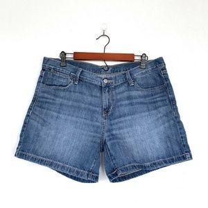Old Navy Blue Jean The Flirt Denim Shorts